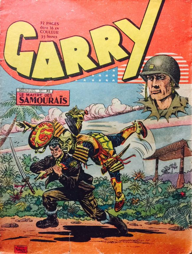 Couverture de Garry -98- Le maître des samouraïs