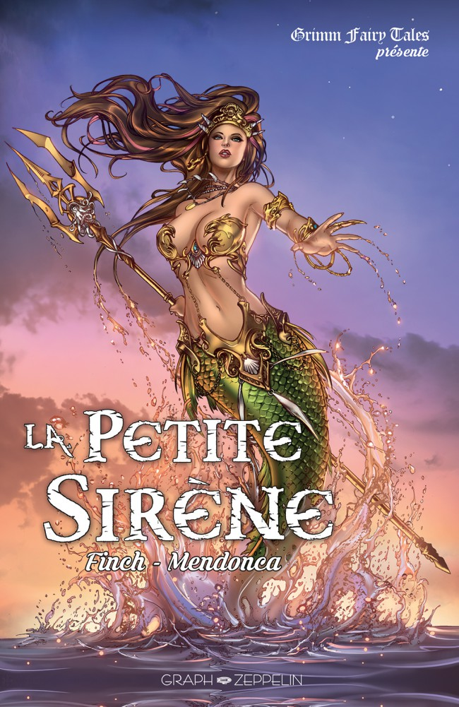 Couverture de La petite Sirène (Finch/Mendonça) - La Petite sirène
