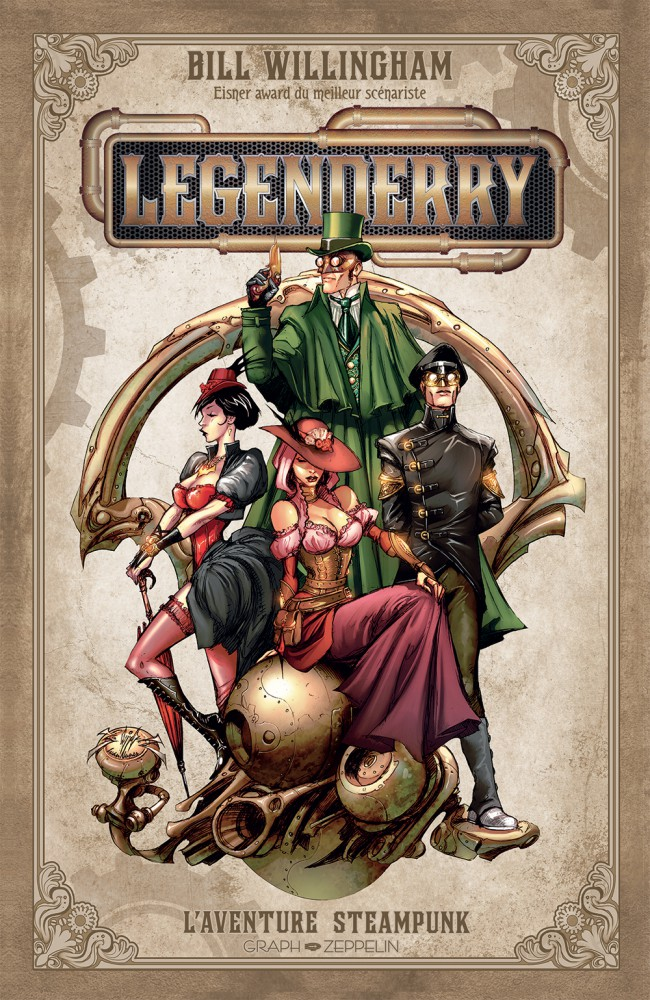 Legenderry - Tome 1 - L'Aventure Steampunk sur Bookys