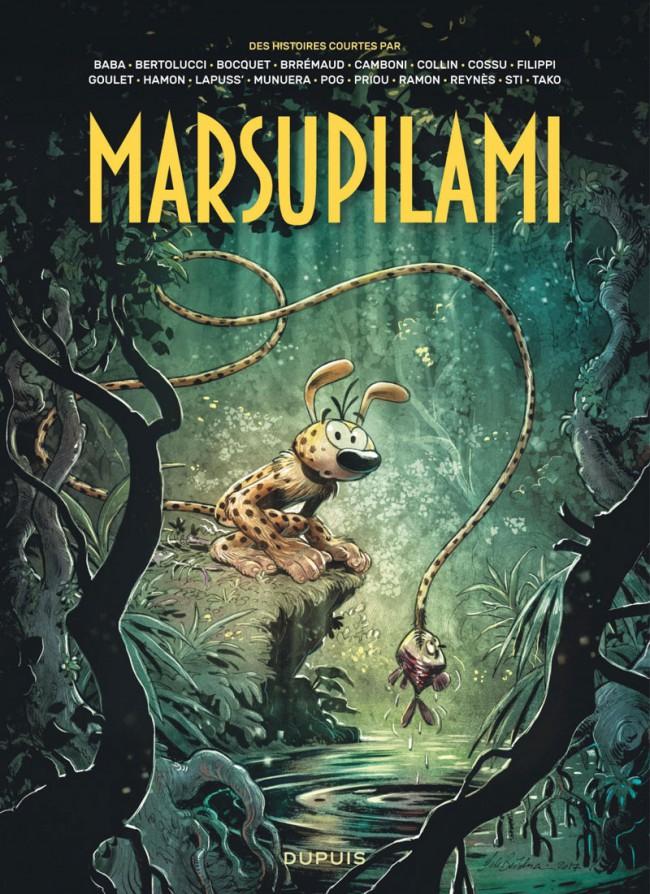 Couverture de Marsupilami - Des histoires courtes par... -1- Tome 1