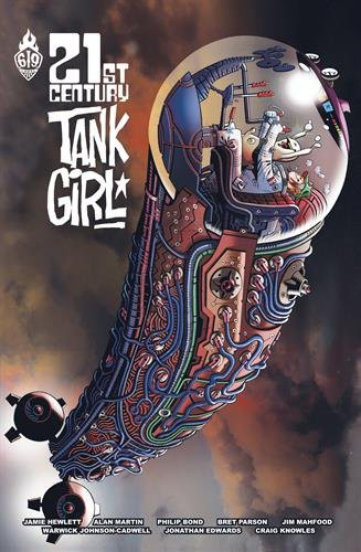 Couverture de Tank Girl -8- 21st Century Tank Girl