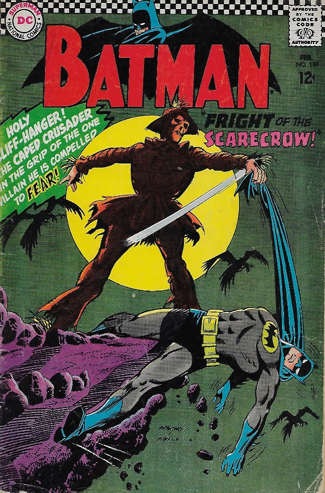 Couverture de Batman Vol.1 (DC Comics - 1940) -189- Fright of the Scarecrow!