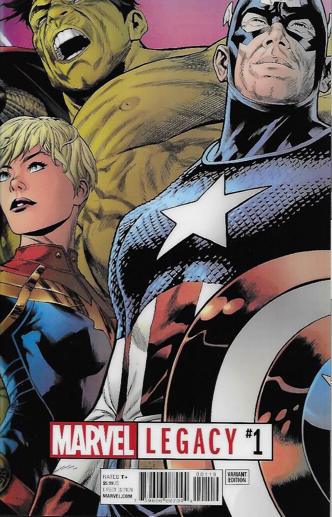 Couverture de Marvel Legacy -1A- Issue #1