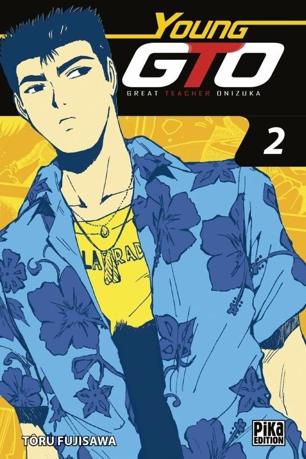 Couverture de Young GTO - Shonan Junaï Gumi (Volume Double) -2- Tome 2
