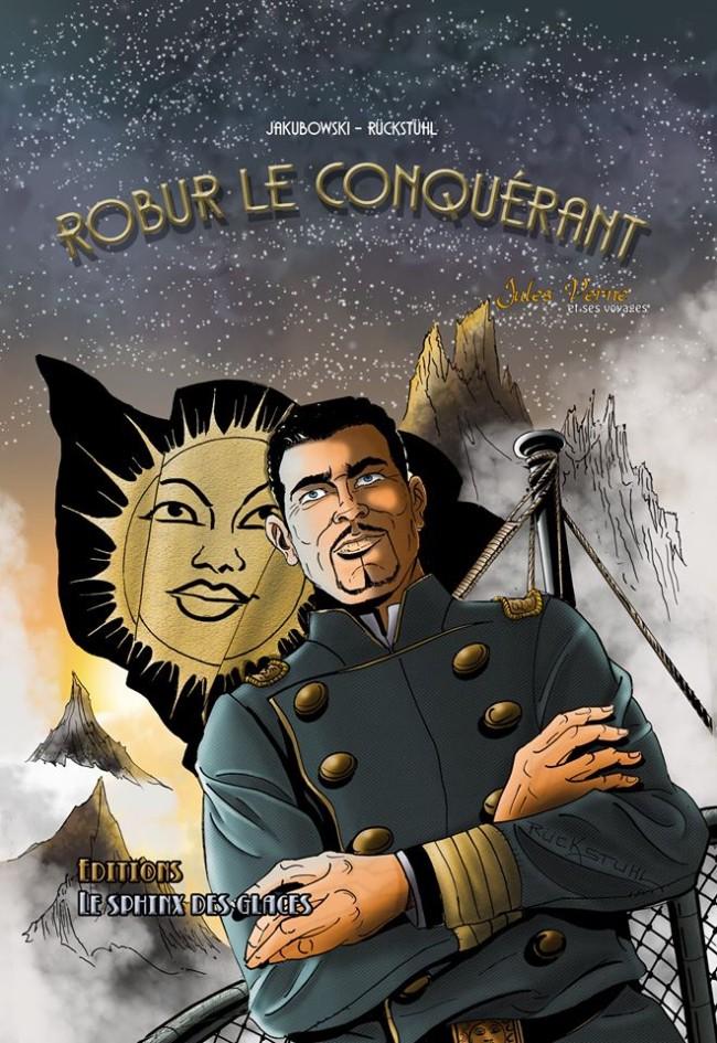 Couverture de Jules Verne et ses voyages -3- Robur le Conquérant