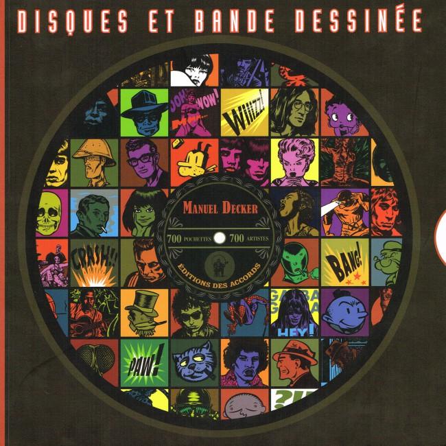 Couverture de (DOC) Études et essais divers - Disques et bande dessinée / Record covers and comic strip
