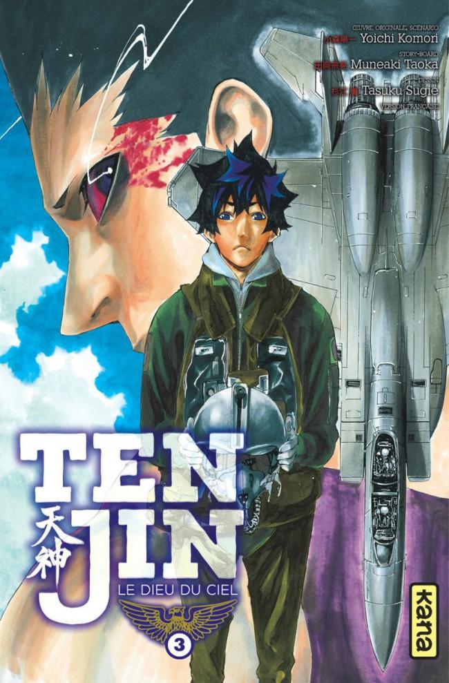 Couverture de Tenjin -3- Tome 3