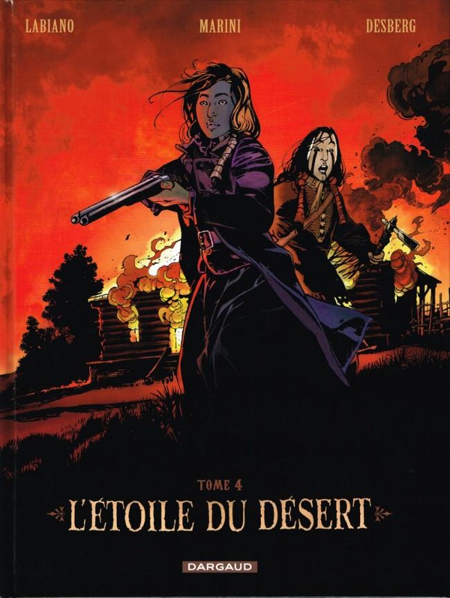 Couverture de L'Étoile du désert -4- Tome 4