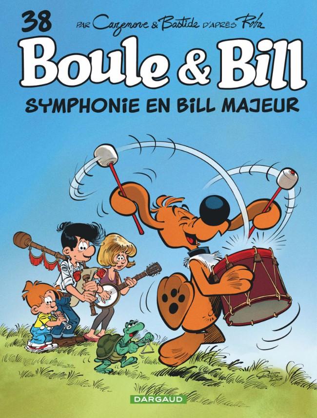 Couverture de Boule et Bill -02- (Édition actuelle) -38- Symphonie en Bill majeur