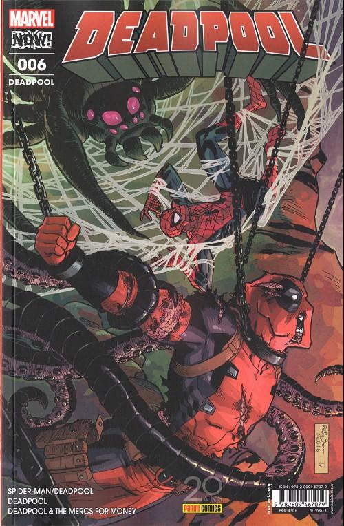Couverture de Deadpool (Marvel France 5e série - 2017) -6- Jusqu'à ce que la mort...(2/2)