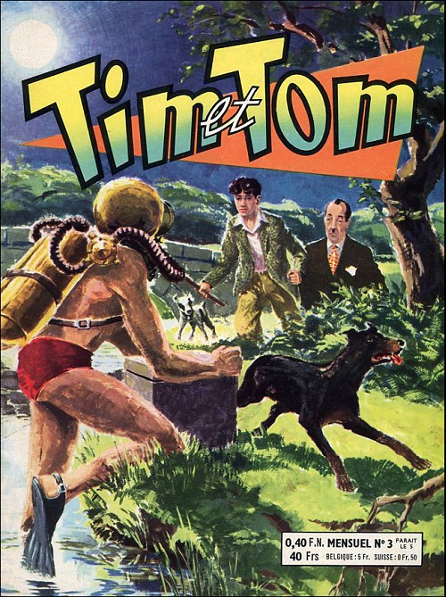 Tim et Tom (Artima) - les 12 tomes