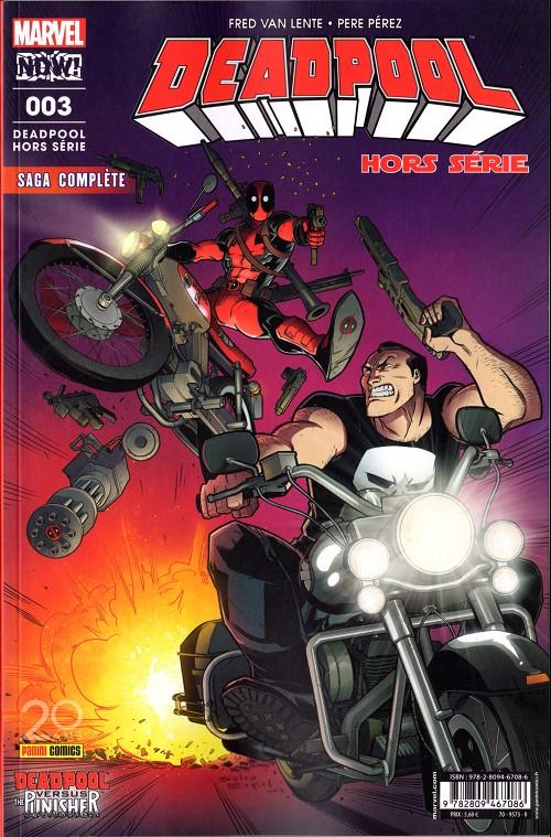 Couverture de Deadpool (Marvel France 5e série - 2017) -HS03- Deadpool contre le Punisher