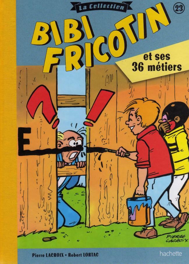 Couverture de Bibi Fricotin (Hachette - la collection) -23- Bibi Fricotin et ses 36 métiers