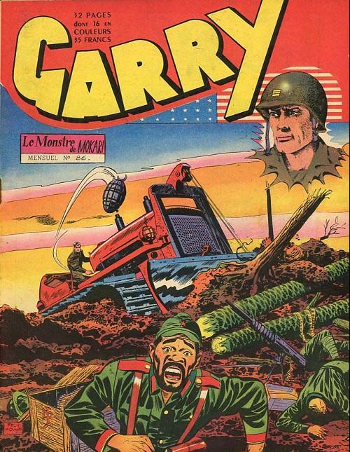 Couverture de Garry (sergent) (Imperia) (1re série grand format - 1 à 189) -86- Le Monstre de Mokari