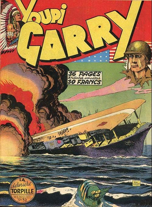 Couverture de Garry (sergent) (Imperia) (1re série grand format - 1 à 189) -32- La Dernière Torpille