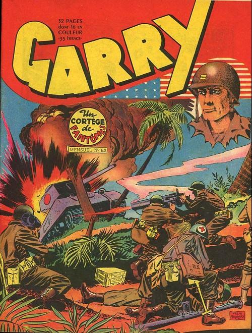 Couverture de Garry -82- Un cortège de fantômes