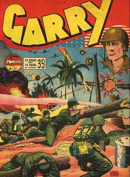 Couverture de Garry -71- L'Express de Mindanao