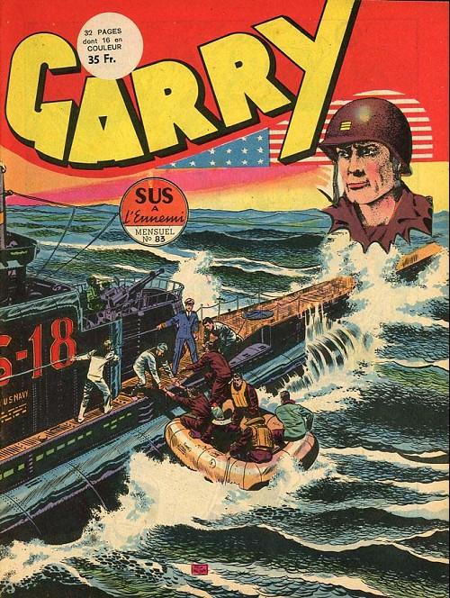 Couverture de Garry (sergent) (Imperia) (1re série grand format - 1 à 189) -83- Sus à l'ennemi