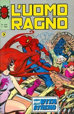 Couverture de L'uomo Ragno V1 (Editoriale Corno - 1970)  -245- Una vita allo stremo