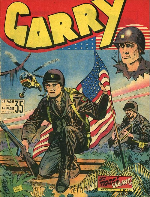 Couverture de Garry -69- Les tigres volants