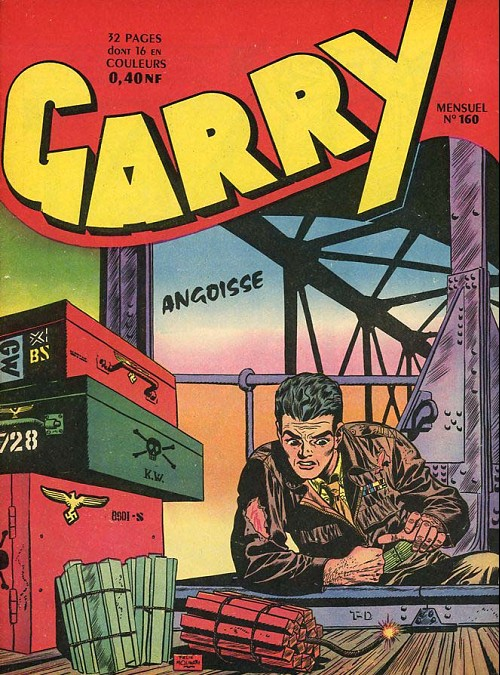 Couverture de Garry (sergent) (Imperia) (1re série grand format - 1 à 189) -160- Angoisse