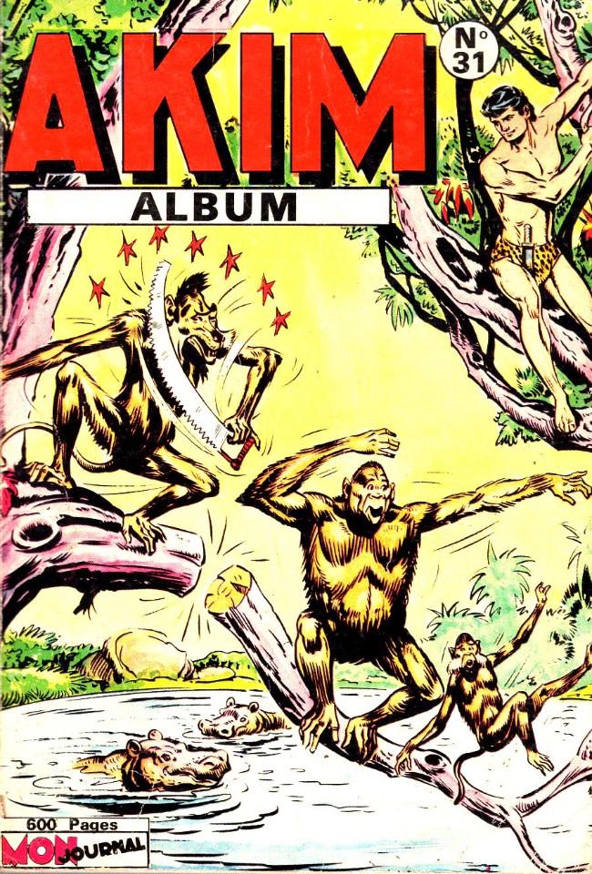 Couverture de Akim (1re série) -Rec031- Album N°31 (du n°188 au n°193)