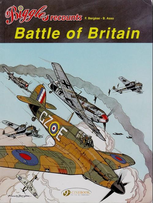 Couverture de Biggles recounts -2- Battle of britain