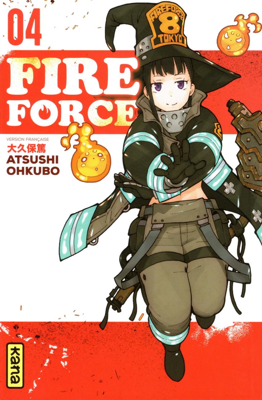 Couverture de Fire Force -4- Tome 4
