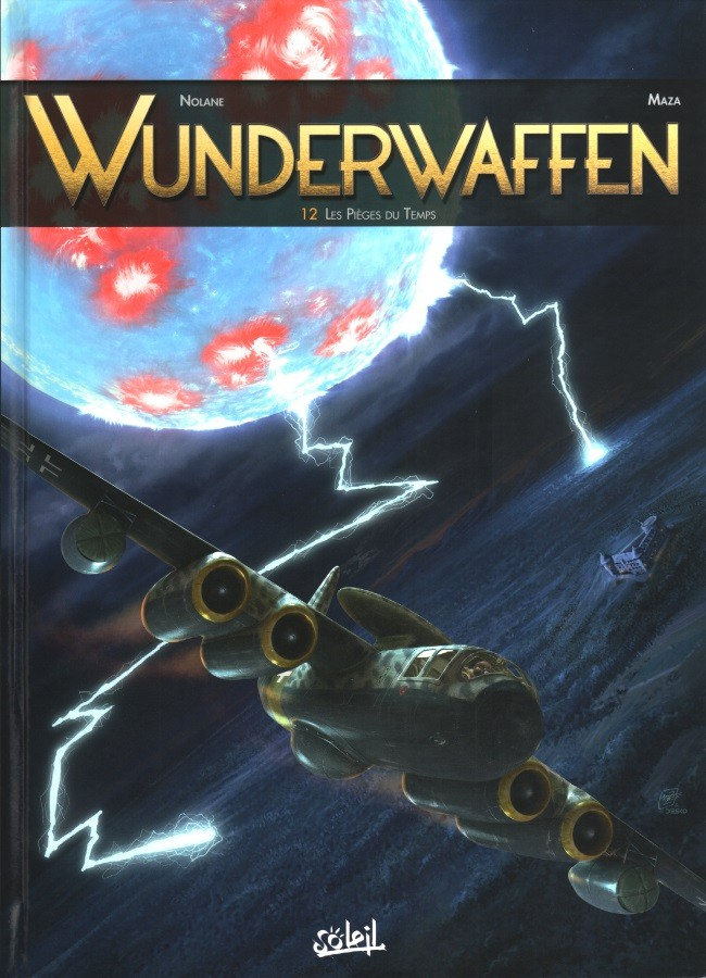 Couverture de Wunderwaffen -12- Les Pièges du Temps
