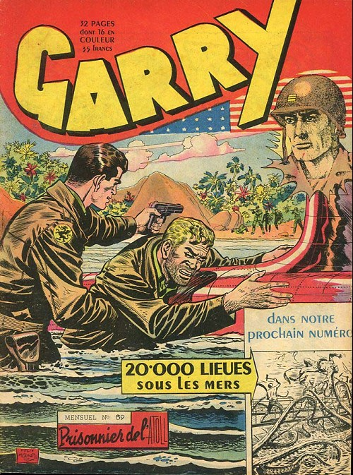 Couverture de Garry -89- Prisonnier de l'atoll