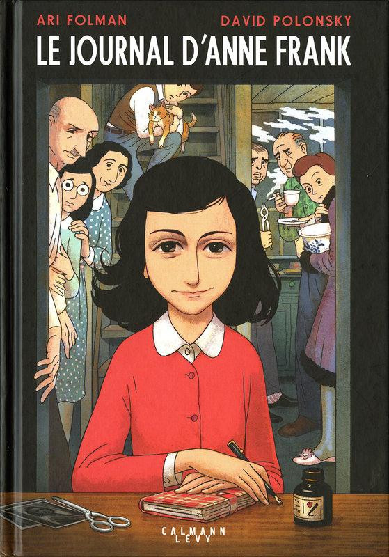 Couverture de Le journal d'Anne Frank - Le Journal d'Anne Frank