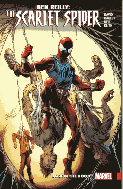 Couverture de Ben Reilly: Scarlet Spider (2017) -INT01- Back in the Hood