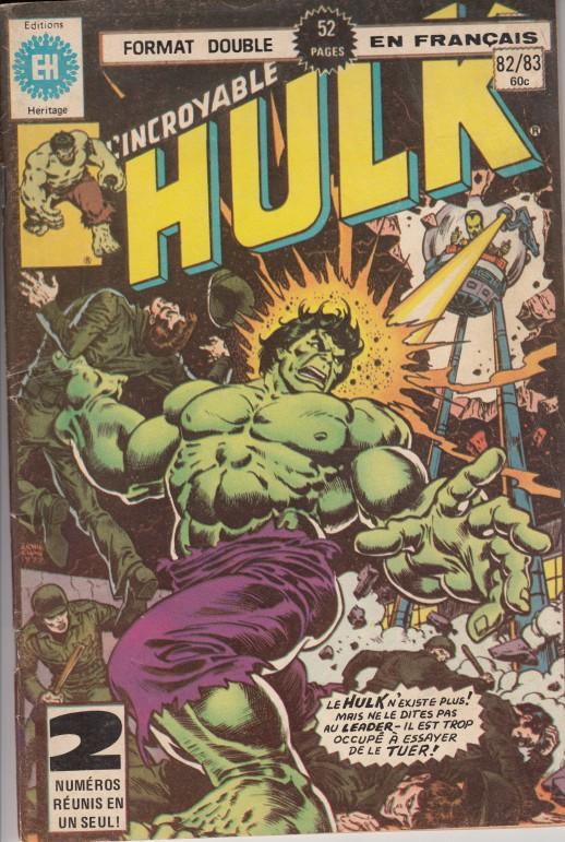 Couverture de L'incroyable Hulk (Éditions Héritage) -8283- Suivez le Leader !