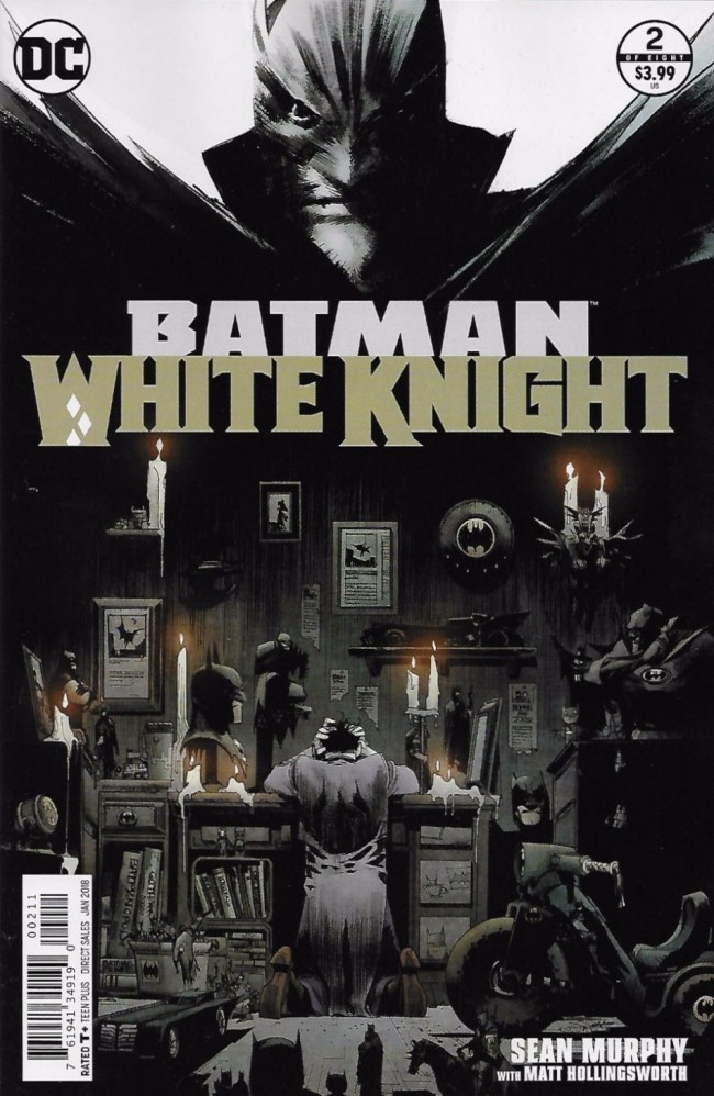 Couverture de Batman: White Knight (2017) -2- Issue 2