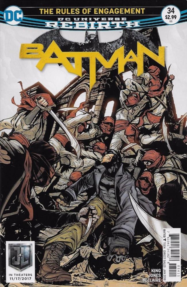 Couverture de Batman (2016) -34- The Rules of Engagement, Part Two