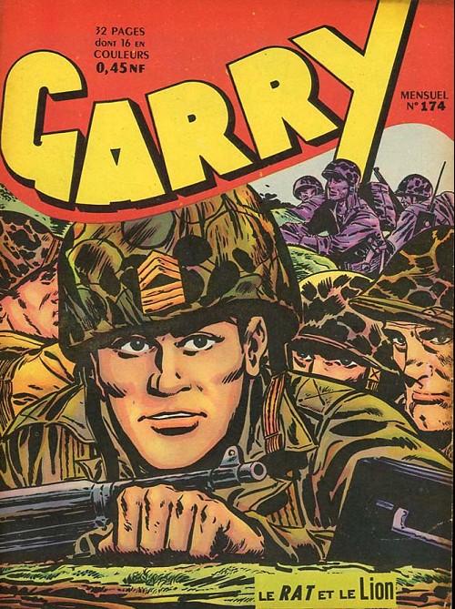 Couverture de Garry -174- Le Rat et le Lion