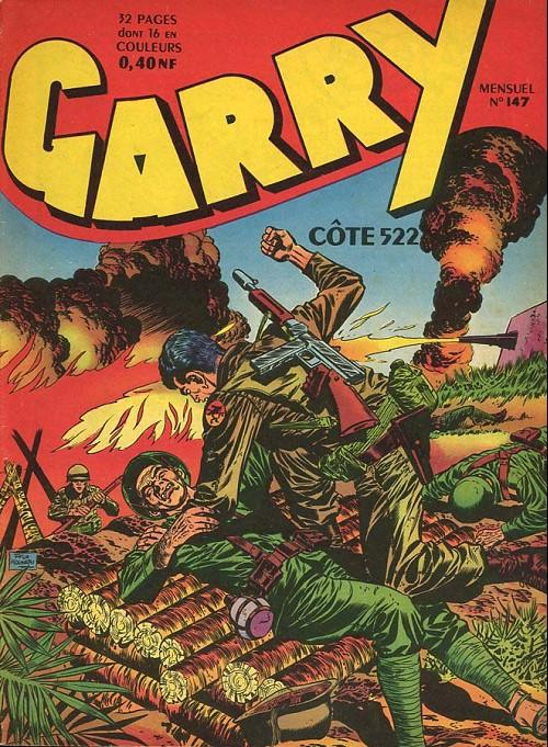 Couverture de Garry -147- Côte 522