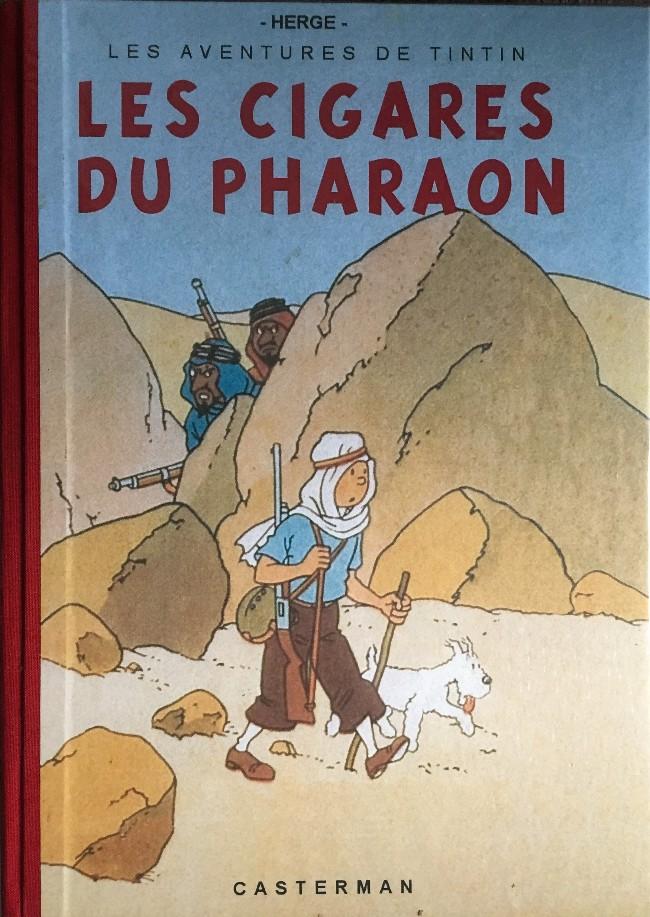 Couverture de Tintin - Pastiches, parodies & pirates - Les cigares du Pharaon