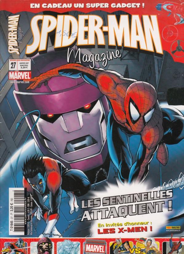 Couverture de Spider-Man (Magazine 4e série) -27- Les Sentinelles attaquent !
