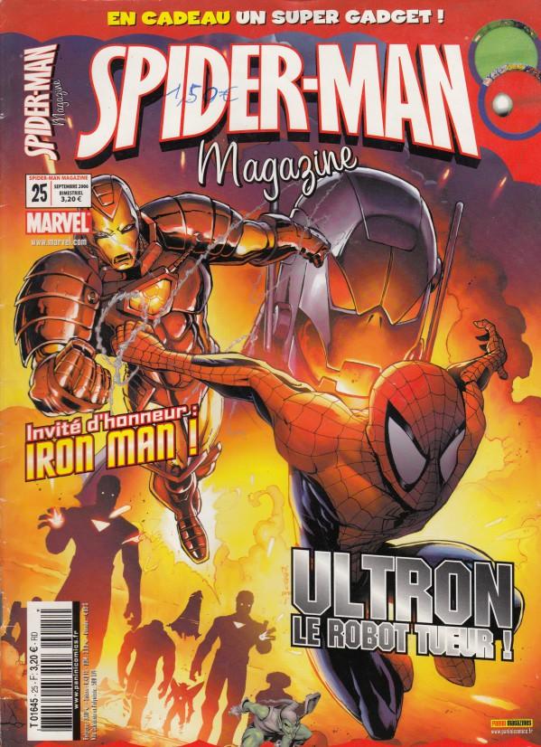 Couverture de Spider-Man (Magazine 4e série) -25- Ultron le robot tueur !
