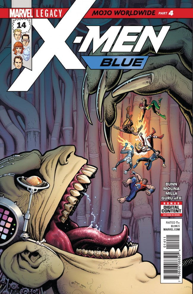 Couverture de X-Men: Blue (2017) -14- Mojo Worldwide: Part 4