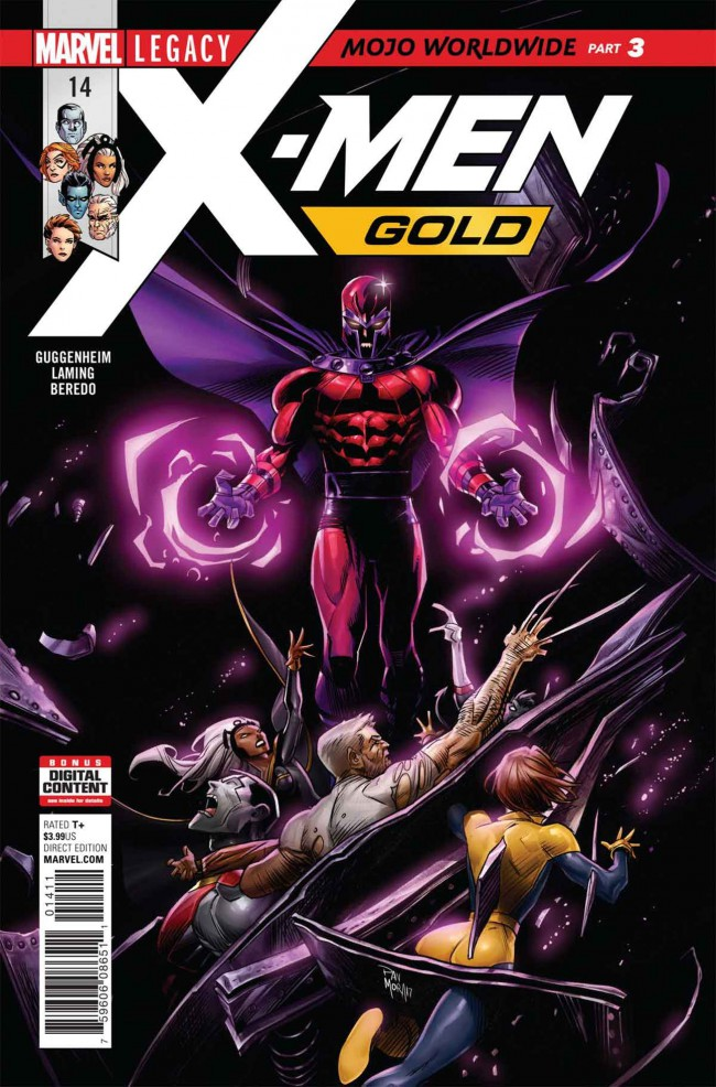 Couverture de X-Men: Gold (2017) -14- Mojo Worldwide: Part 3