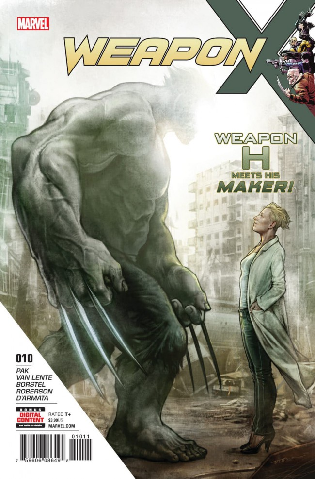 Couverture de Weapon X (2017) -10- The Hunt for Weapon H: Part 4