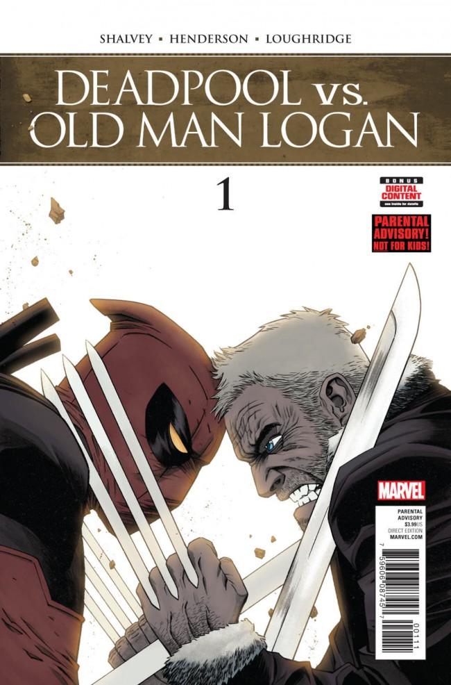 Couverture de DeadPool vs Old Man Logan -1- Issue #1