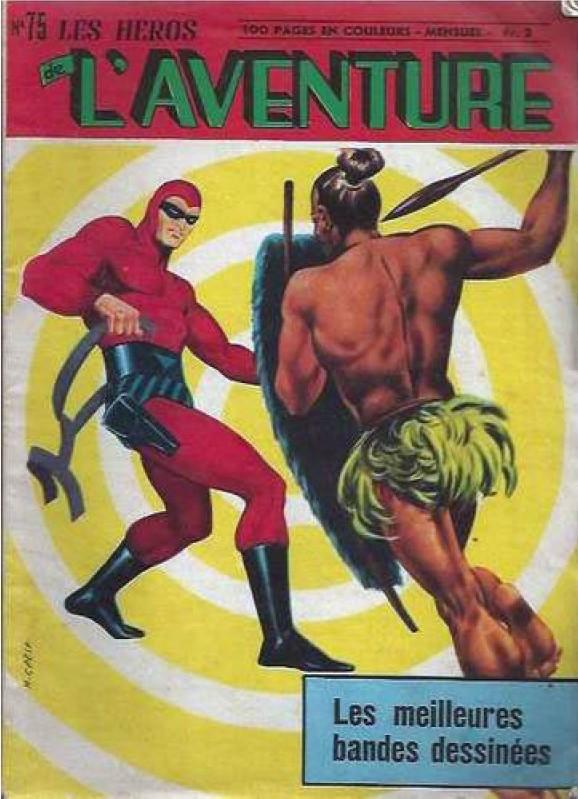 Couverture de Les héros de l'aventure (Classiques de l'aventure, Puis) -75- Le Fantôme : Défi à l'ombre qui marche