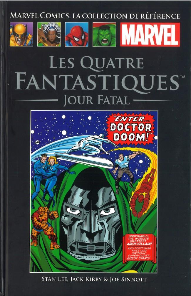 Couverture de Marvel Comics - La collection (Hachette) -97IV- Les Quatre Fantastiques - Jour Fatal