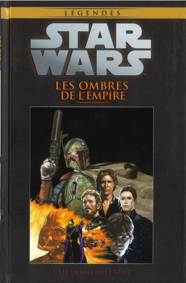 Couverture de Star Wars - Légendes - La Collection (Hachette) -5259- Les Ombres de l'Empire - I. Les Ombres de L'Empire