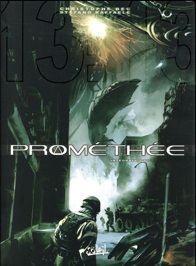 Couverture de Prométhée -INT3- Intégrale 3