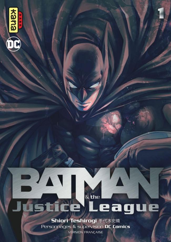 Couverture de Batman & the Justice League -1- Tome 1
