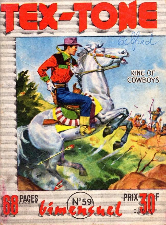 Couverture de Tex-Tone -59- Le jeu de la vie et de l'honneur